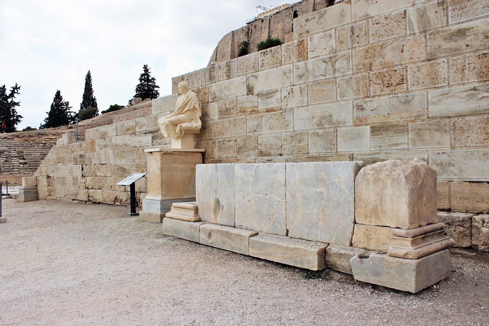 ΑΤΤΙΚΗ :Αναστήλωση Αρχαίου Θεάτρου Διονύσου