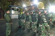 Danramil 02/TB Pimpin Pelaksanaan Patroli di Kodim 0503/JB