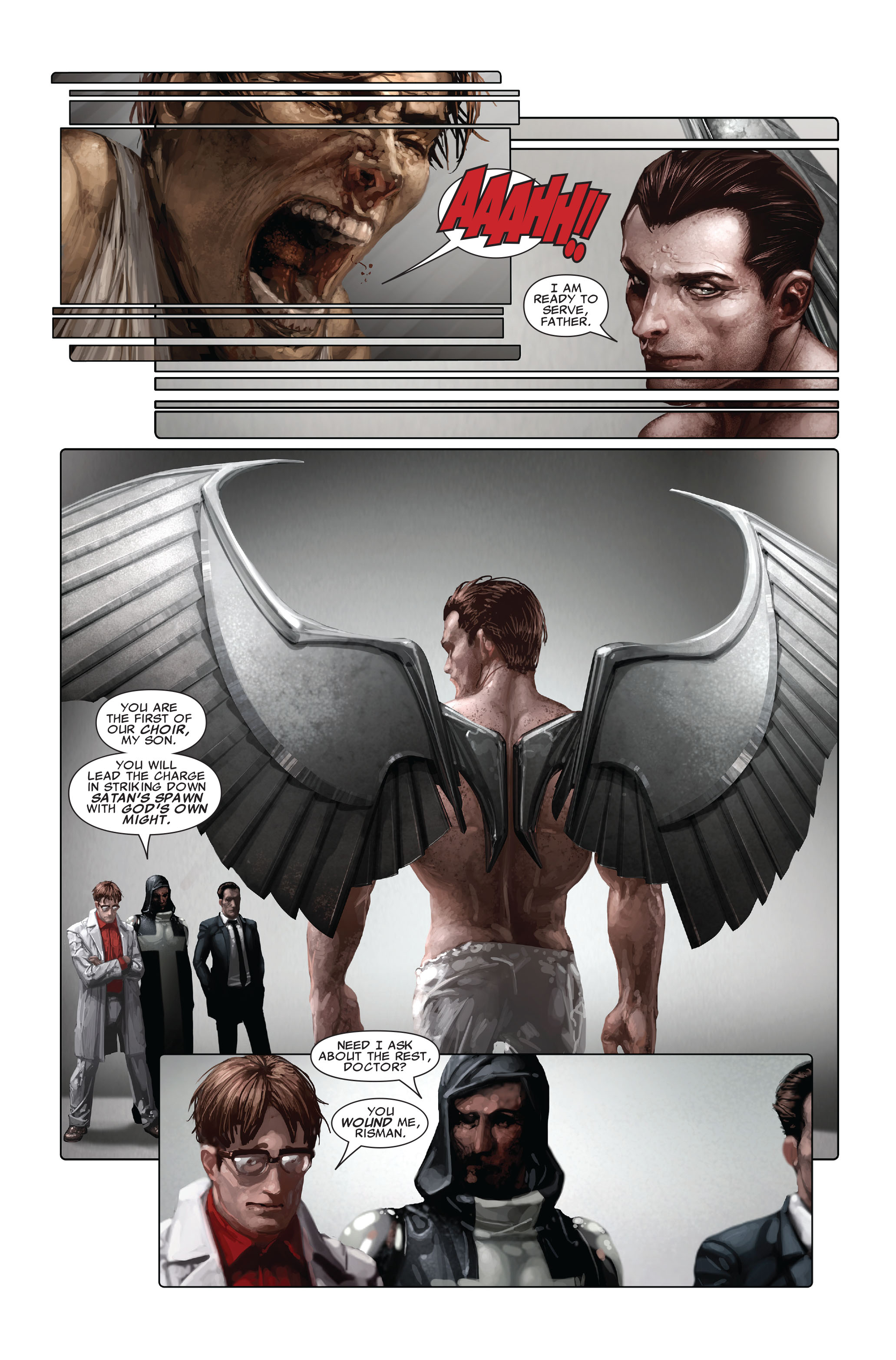 Read online X-Force (2008) comic -  Issue #4 - 21