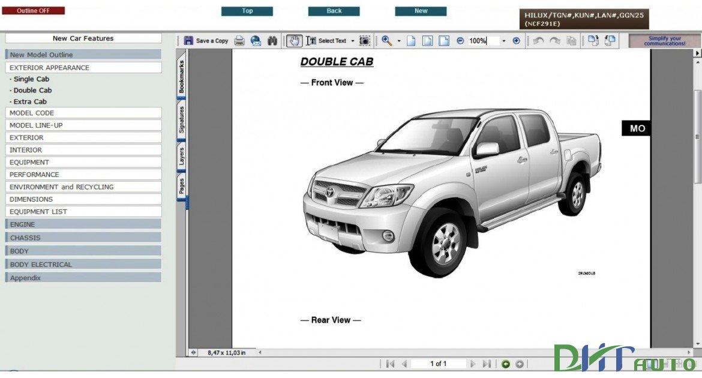 toyota hilux 2006 model haynes manual free owners manual u2022 rh wordworksbysea com 2012 Hilux Hilux 2008 Interior