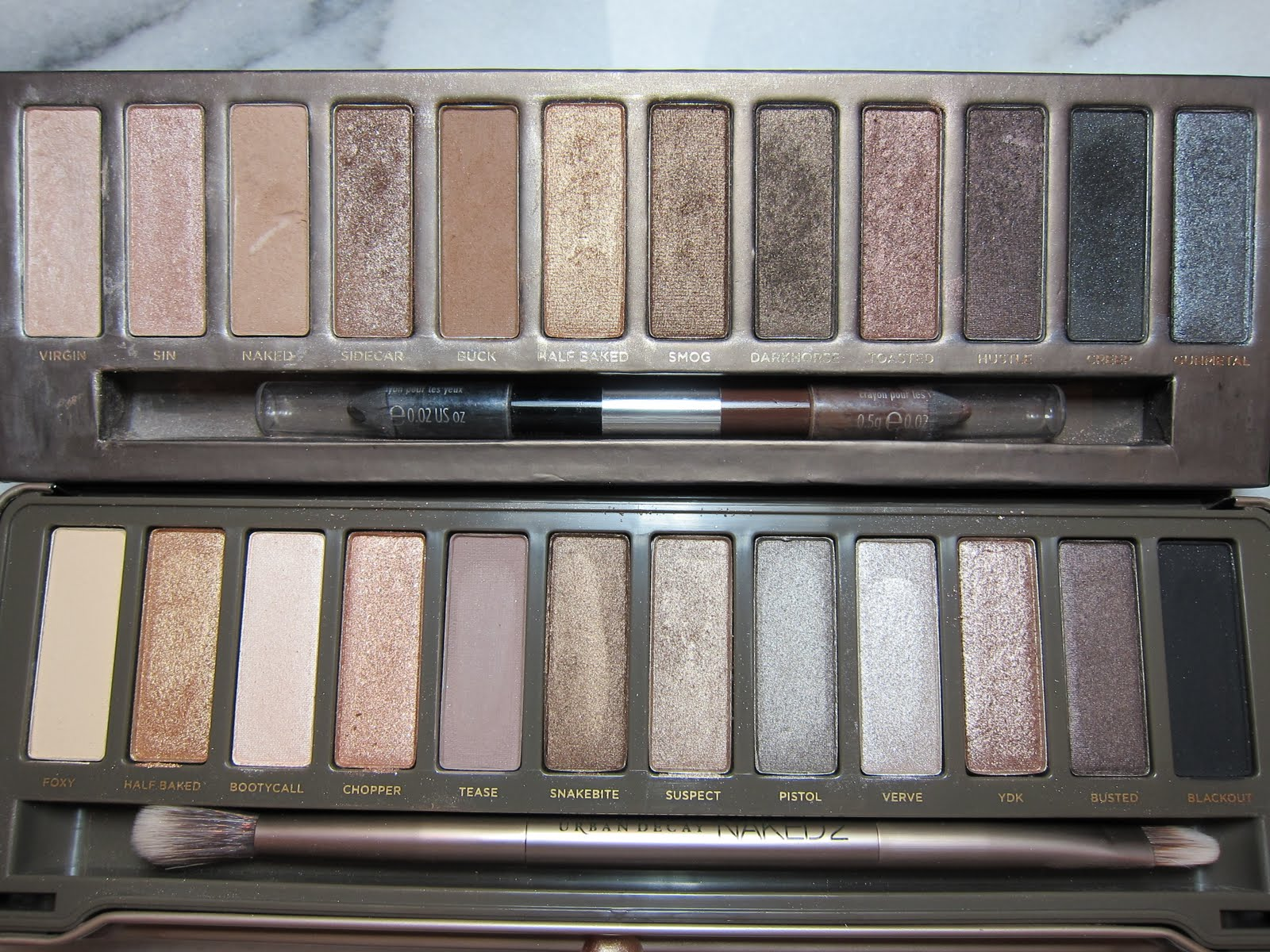 REVIEW: URBAN DECAY NAKED 2 & NAKED BASICS 2 PALETTE ... |Urban Decay Palette 2