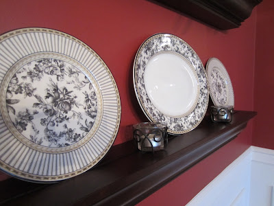 Bottom Shelf with Royal Doulton dishes