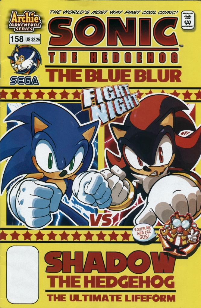 Read online Sonic The Hedgehog comic -  Issue #158 - 1