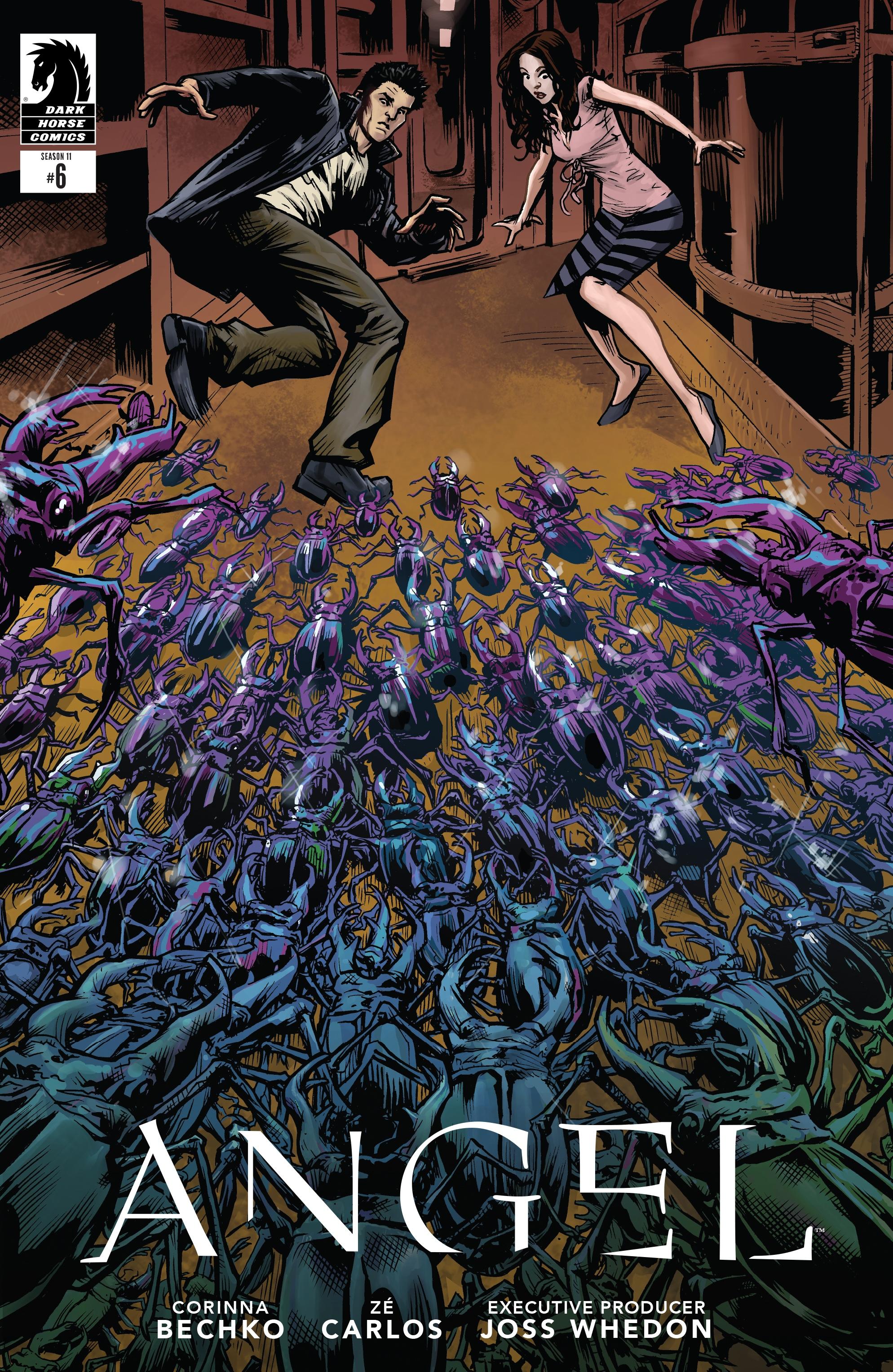 Read online Angel Season 11 comic -  Issue #6 - 2