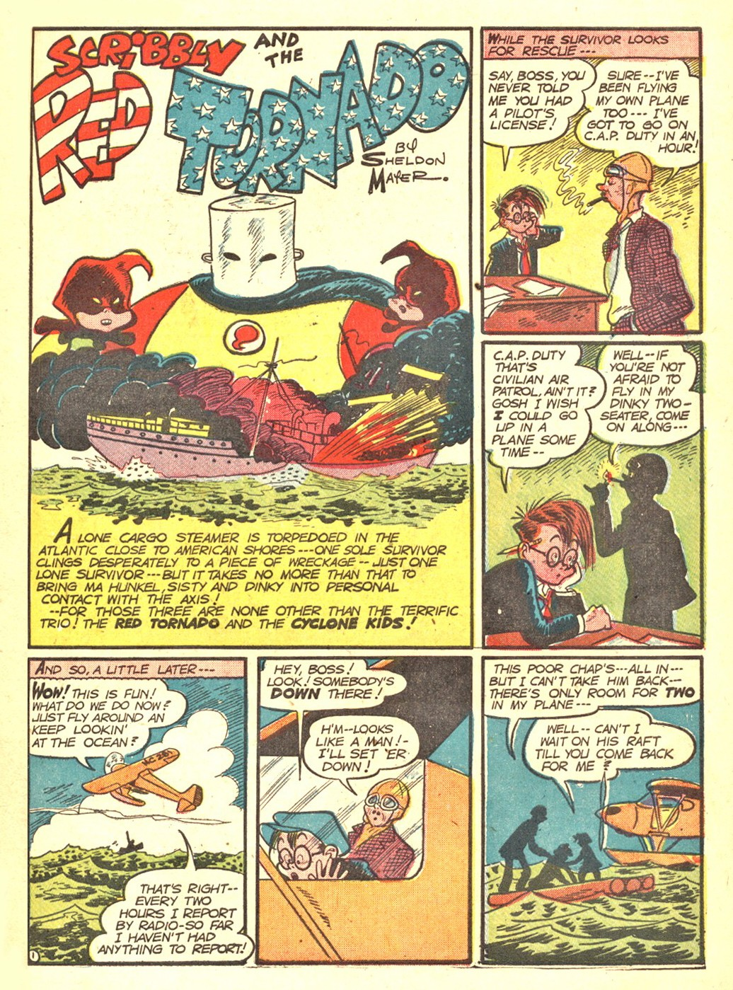 Read online All-American Comics (1939) comic -  Issue #47 - 52
