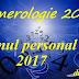 Numerologie 2017 - Anul tău personal 2017