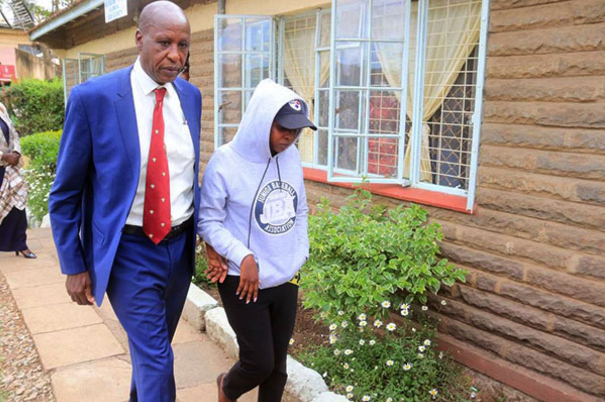 When everyone leaves your side, when all betray you, your family will always stand by you. Despite the case haunting his daughter, Jacque Maribe's father took time to attend Tuesday's court proceeding and encourage his daughter. A video by K24 even shows the two smiling perhaps telling Jacque that this will end.