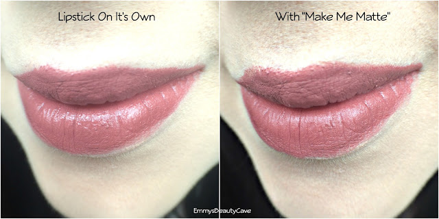 Saturated Colour Make Me Matte Before and After Pictures