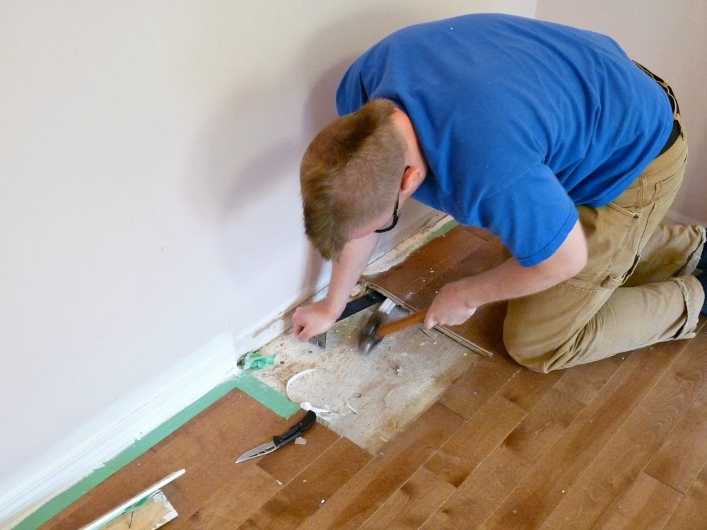 how to replace damaged floorboards