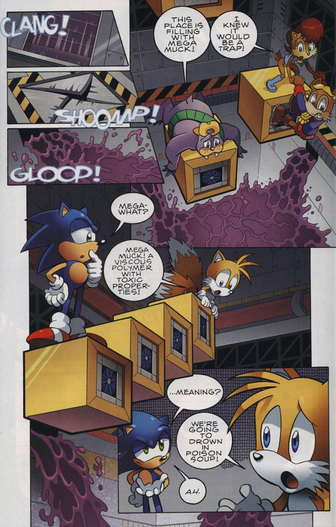 Read online Sonic The Hedgehog comic -  Issue #228 - 19
