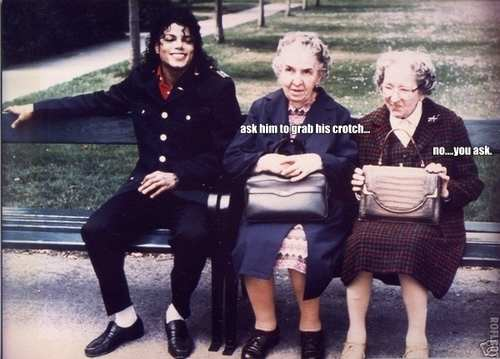 Michael Jackson Old Ladies Meme