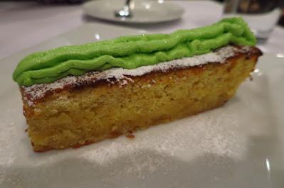 Pasta Brava, limoncello cake key lime mousse