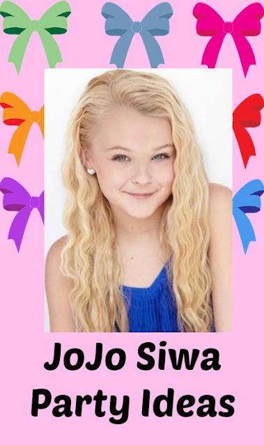 Please Plan My Party Jojo Siwa Party Ideas