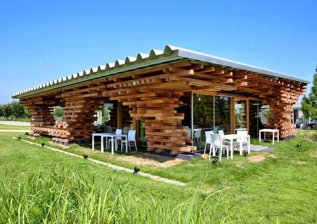 Desain Kafe Bahan Bata Ringan Baja Ringan Plafon