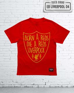 Kaos Bola Liverpool