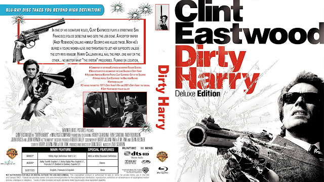 Dirty Harry Bluray Cover
