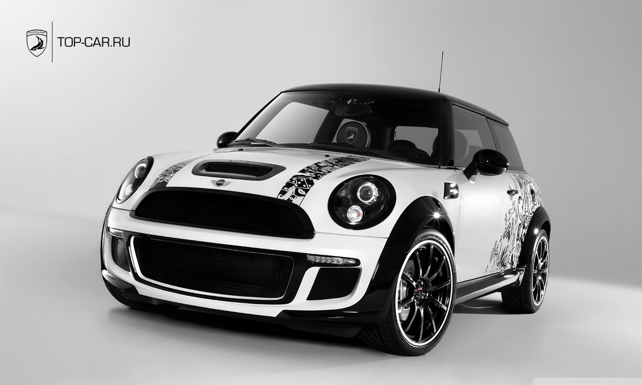 mini cooper s bully wallpaper auto keirning cars. Black Bedroom Furniture Sets. Home Design Ideas