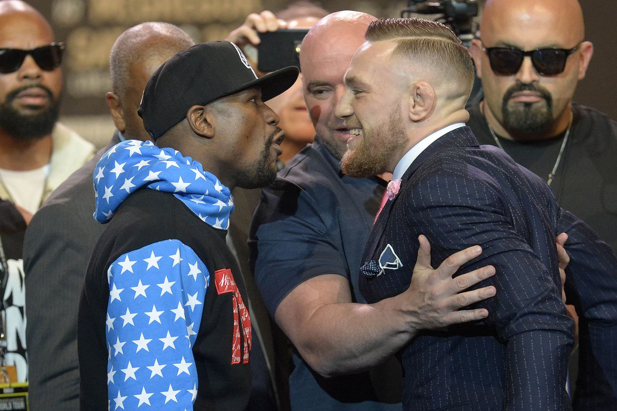FLOYD MAYWEATHER VS. CONOR MCGREGOR 4