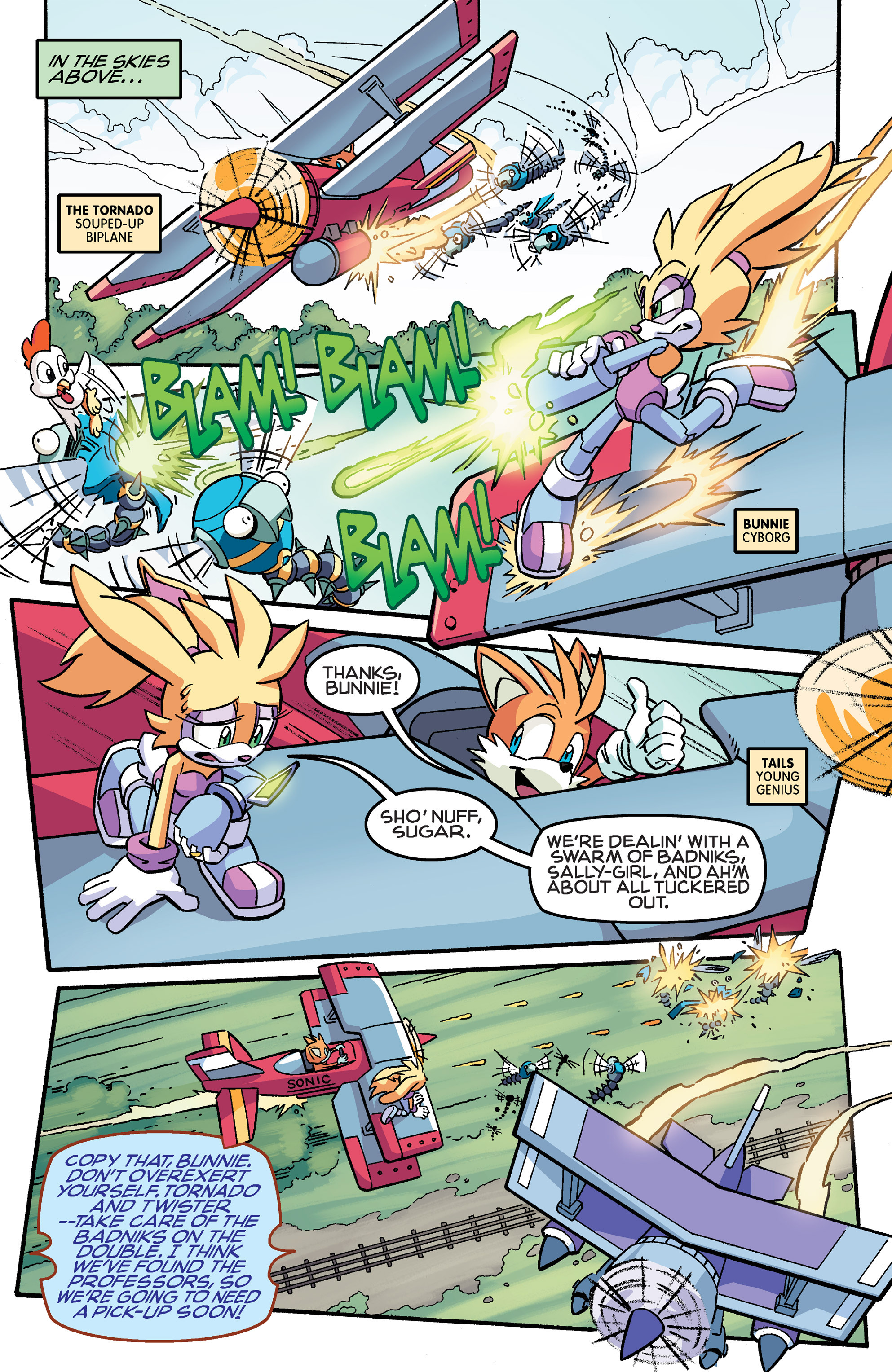 Read online Sonic The Hedgehog comic -  Issue #259 - 6