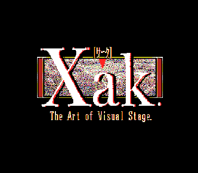 Xak - The Art of Visual Stage - Título