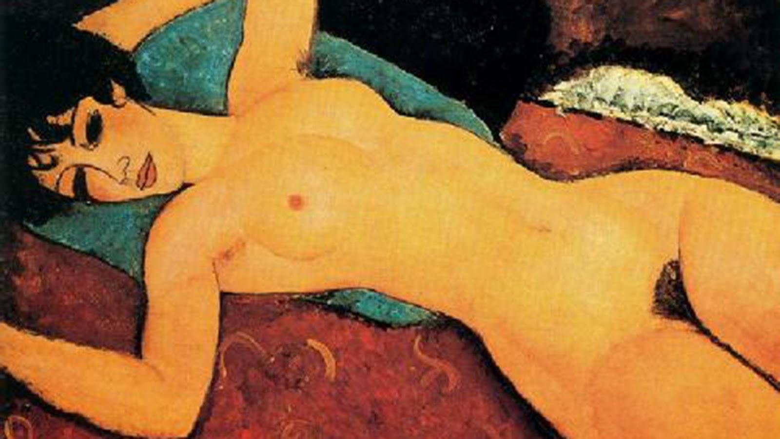 Desnudo Acostado de Amadeo Modigliani