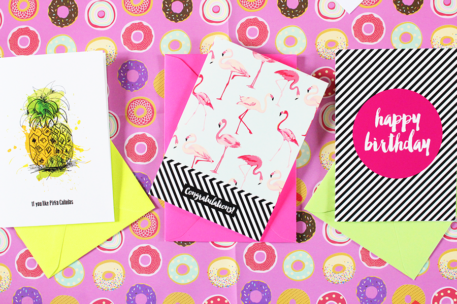cute colourful stationery subscription