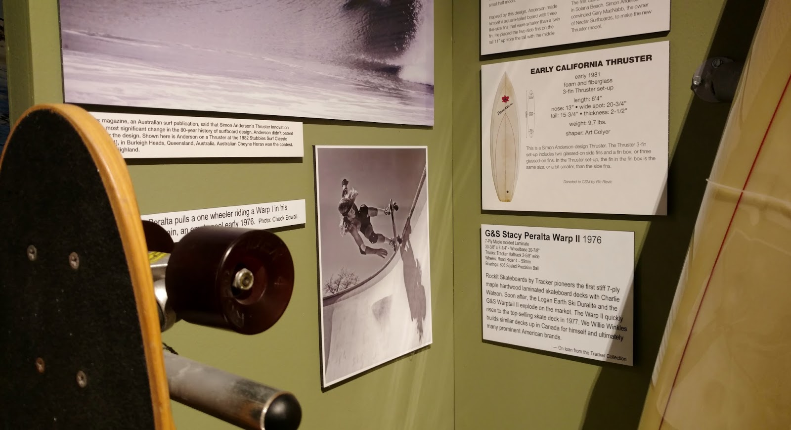 C Bakunas Art: A Visit To The California Surf Museum In