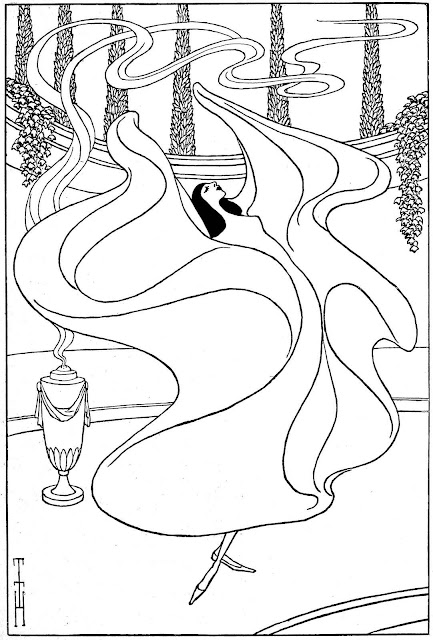 Thomas Theodor Heine 1901 cartoon illustration