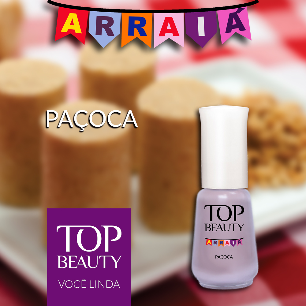 Esmalte Top Beauty :: Paçoca - Resenha