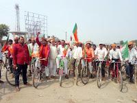 bjp-foolparas-celebrate-ambedkar-jayanti