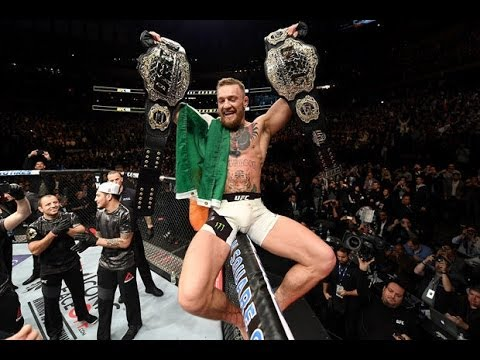 Conor McGregor McGregor Takeover Vertical Green-Orange 2 Tank Top