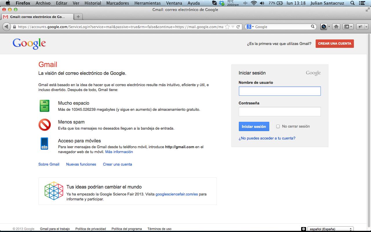 Gmail Crear Cuenta Gratis En Linea Gmail Crear Cuenta