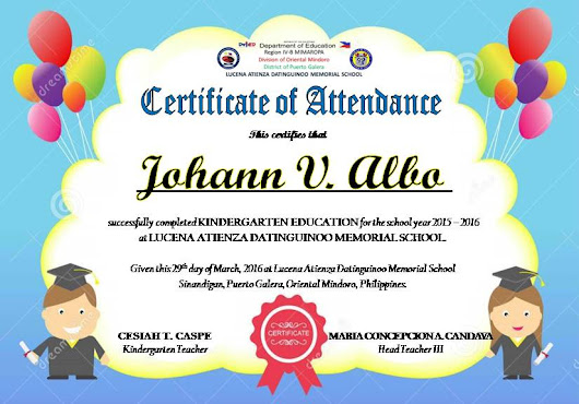Certificate Of Attendance Templates Editable Certificate Of