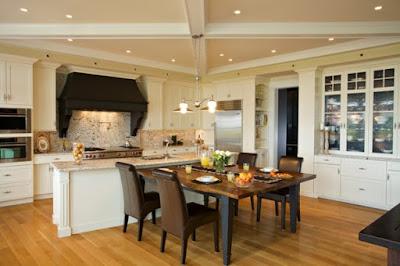 Desain Furniture Untuk Ruang Dapur Terbuka