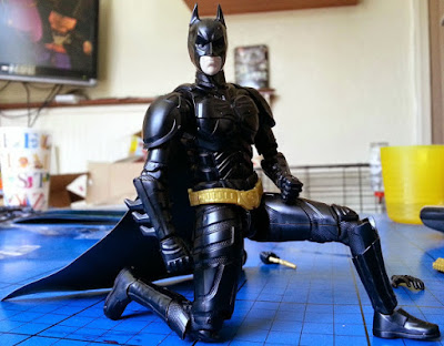 Fathers Day gift idea sprukits model set Batman DC