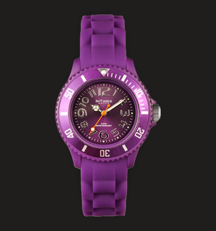 Intimes IT038-PP - Jam Tangan Unisex Purple
