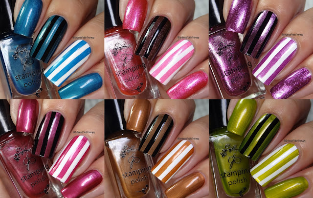 Clear Jelly Stamper swatches | 052-057