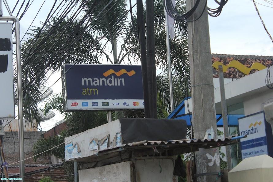 Lokasi ATM Mandiri Daerah Serang