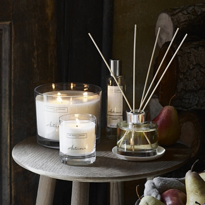 The White Company Autumn Candle