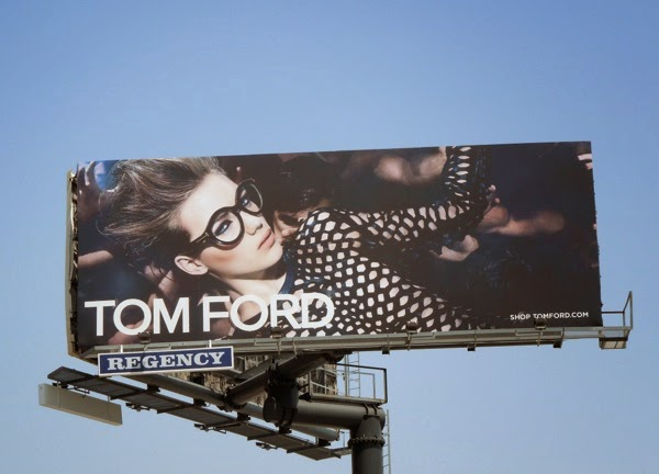 Tom Ford Eyewear May 2014 billboard