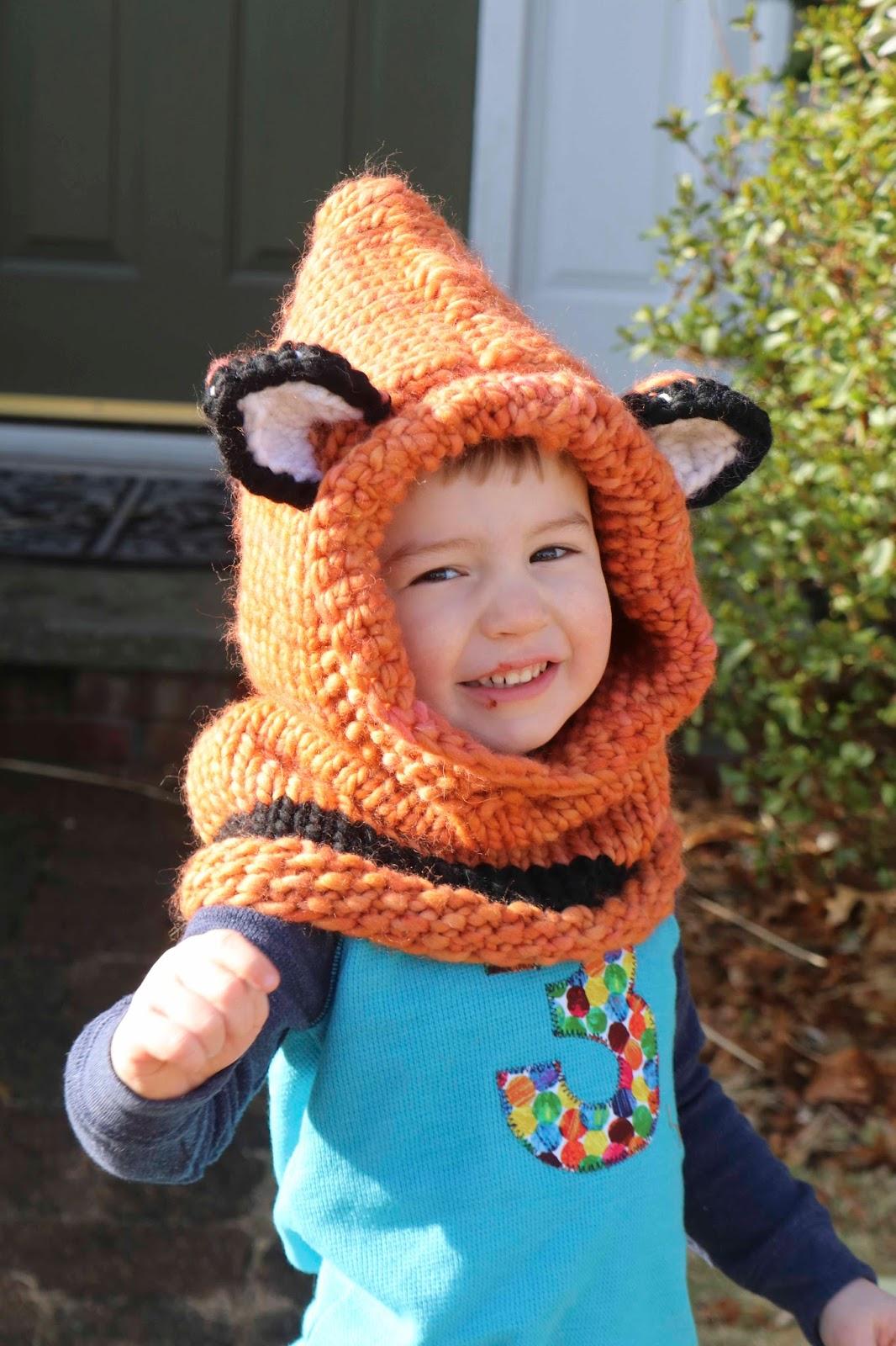 ChemKnits: A Fox Cowl