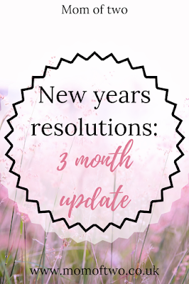 new years resolutions 3 month update