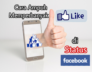 Cara mendapatkan ribuan like di status Facebook