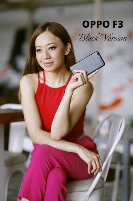 Gadget Talk : The OPPO F3 Black Version