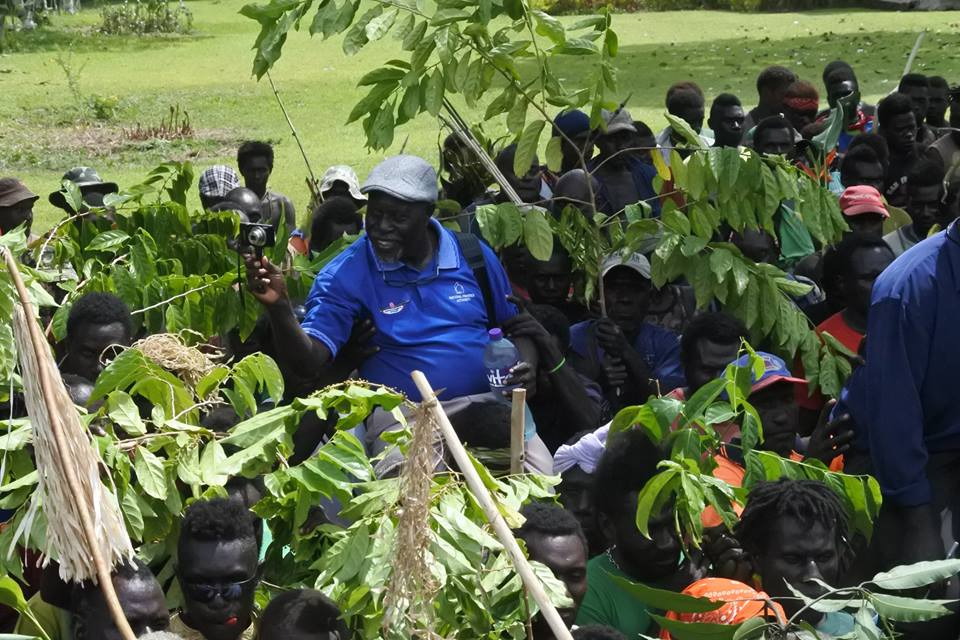 Miriku urges people of Kereaka on  Bougainville to continue the fight