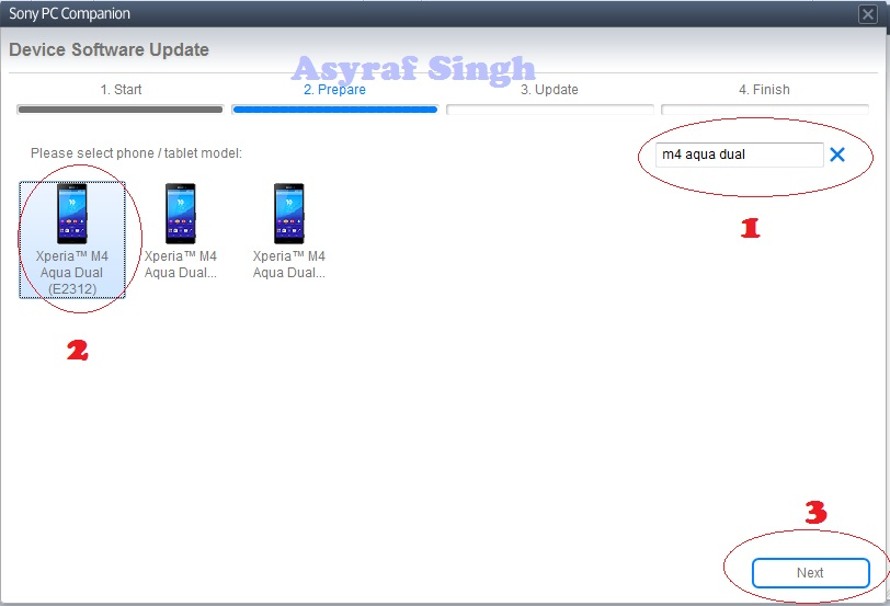 free Biz: Flash or Update Sony Xperia M4 Aqua Dual Using