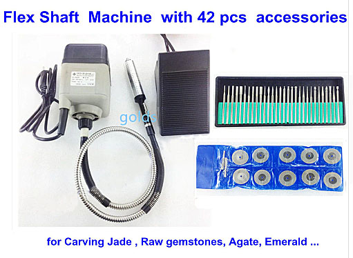 Flex Shaft Jade Grinding Machine for Carving