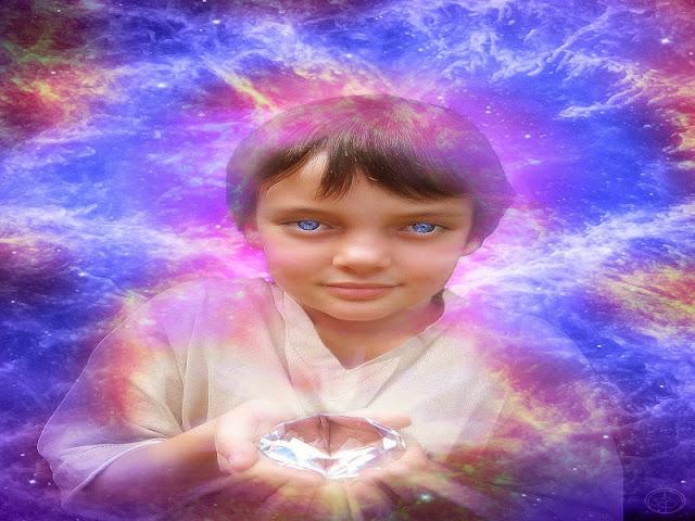 Resultado de imagem para criança cristal
