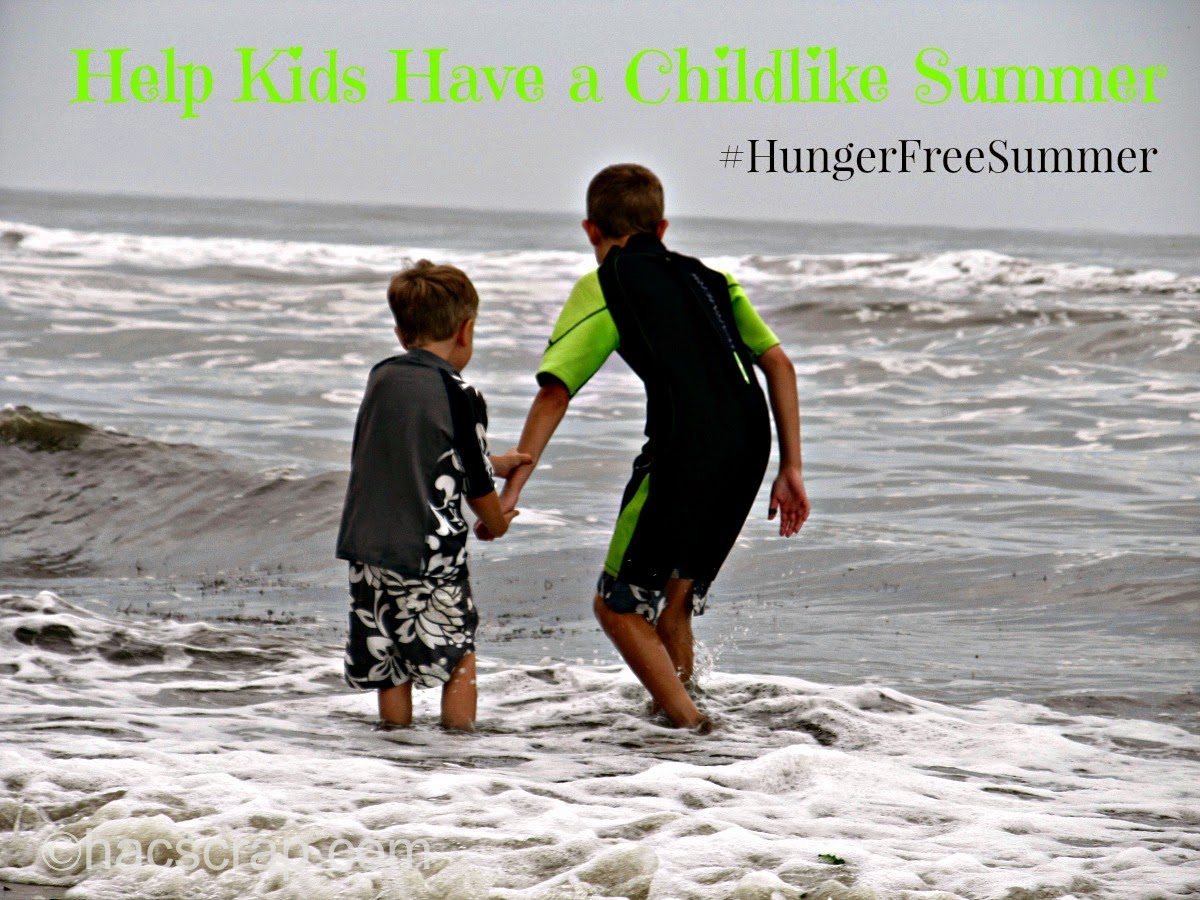 Kids on the Beach #HungerFreeSummer