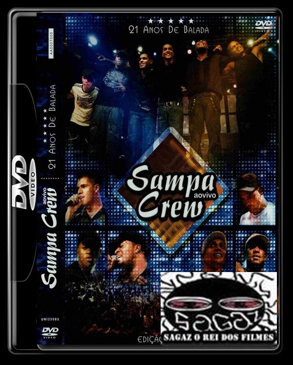 audio dvd sampa crew 21 anos de balada